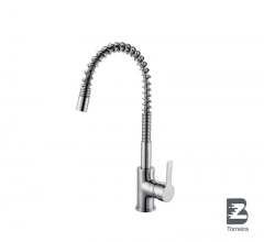 P-8007 Single Handle Pull-Out Kitchen Faucet