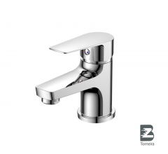 L-6016 Single-Handle Bathroom Water Tap Basin Faucet in Chrome
