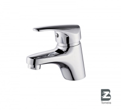 L-6023 Single-Handle Bathroom Water Tap Basin Faucet in Chrome