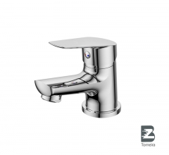 L-6008 Single-Handle Bathroom Water Tap Basin Faucet in Chrome