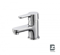 L-6026 Single-Handle Bathroom Water Tap Basin Faucet in Chrome