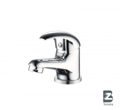 L-7003 Single-Handle Bathroom Water Tap Basin Faucet in Chrome