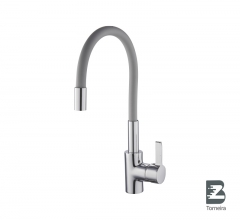 P-8013 Single Handle Gray Spout Kitchen Faucet