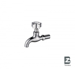 LC-7008 Hand Wash Bibcock Water Taps in Chrome