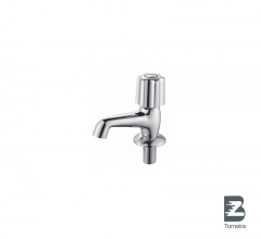 LA-7005 Chrome Small Bathroom Taps Mixer Faucet With Cover