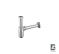 LF-7008 Square Shape Basin Sink Drainer with Bottle Trap