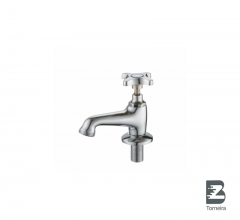 LA-7008 Chrome Small Bathroom Taps Mixer Faucet With Cover