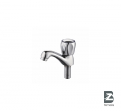 LB-7008 Chrome Small Bathroom Taps Mixer Faucet