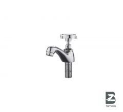 L-7006 Chrome Small Bathroom Taps Mixer Faucet