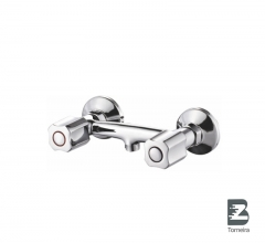 D-7004 Two Handle Bathroom Shower Faucet