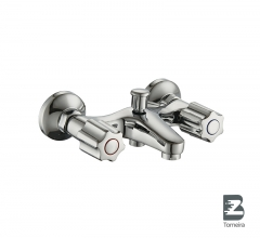 T-7005Two Handle Bath Faucet in Chrome