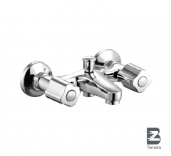 T-7004 Two Handle Bath Faucet in Chrome