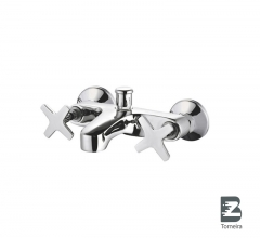 T-7001 Two Handle Bath Faucet in Chrome