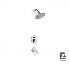 R-6021 Bathroom Wall Mounted Tub and Shower Faucet