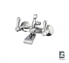 T-6028 Two Handle Bath Faucet in Chrome