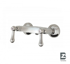 D-6028 Two Handle Bathroom Shower Faucet