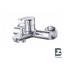 T-6022 Single Handle Bath Faucet in Chrome