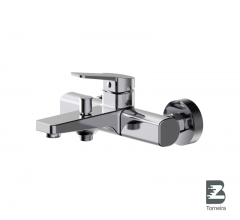 T-9002 Single Handle Bath Faucet in Chrome