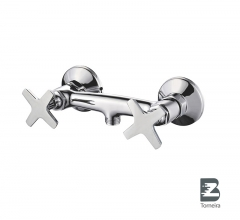 D-7001 Two Handle Bathroom Shower Faucet