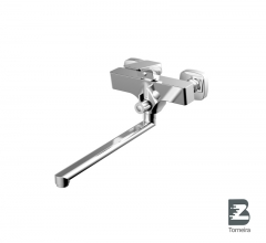 W-9008 Single Handle Wall Mounted Bathtub Faucet