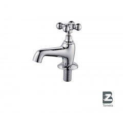 LA-7002 Chrome Small Bathroom Taps Mixer Faucet With Cover