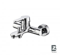 T-6026 Single Handle Bath Faucet in Chrome