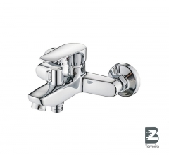 T-6016 Single Handle Bath Faucet in Chrome