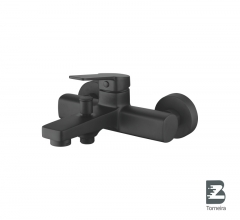 T-9001 Single Handle Bath Faucet Black Matte