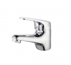 L-6031 Single-Handle Bathroom Water Tap Basin Faucet in Chrome