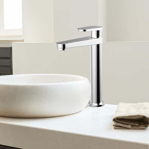 What is the material classification of the faucet?