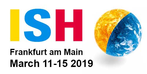 Frankfurt ISH fair,Germany (11-14,March,2019)