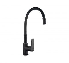 P-6012-2-F Single Handle Laundry Sink Faucet Black Matte